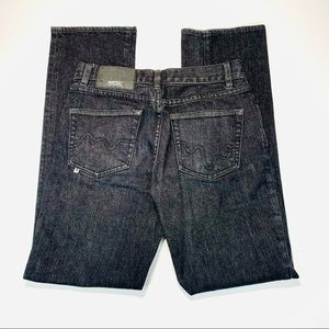 WESC jeans button fly straight leg size 28 x 30